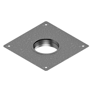 PZK - Plate with connector