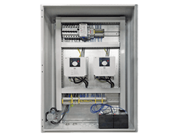 Power and control cabinets